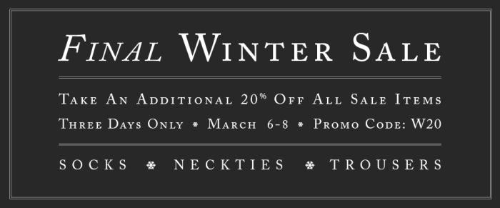 Final Winter Sale 2015