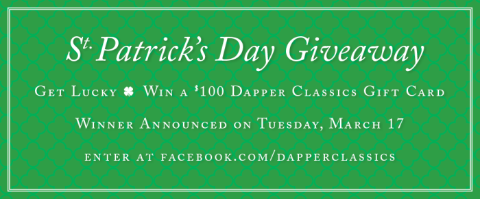 St. Patrick's Giveaway