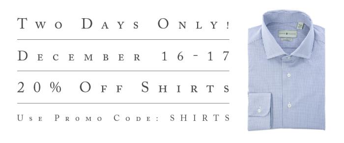 Shirt Sale