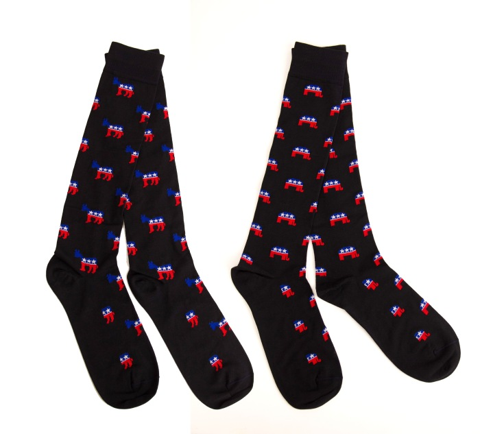 Political Party Socks