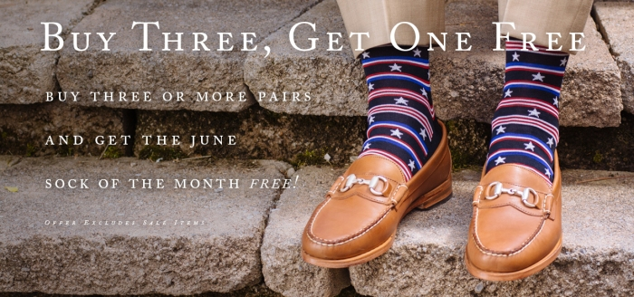 June Sock of the Month