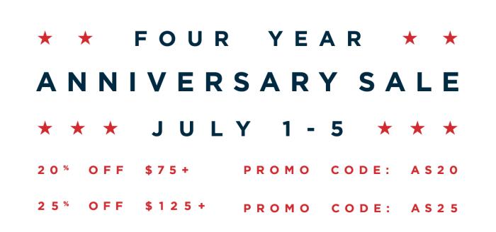 Dapper Classics Anniversary Sale