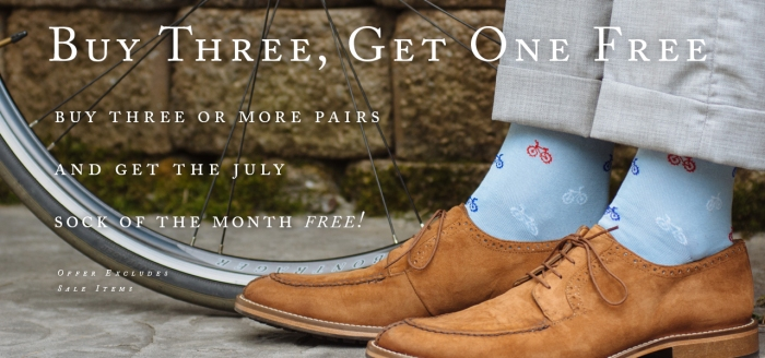 July Sock of the Month