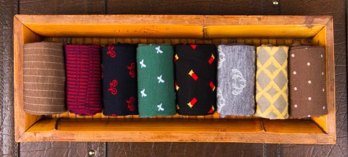 Dapper Classics Fall Socks