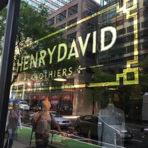Henry David Clothiers