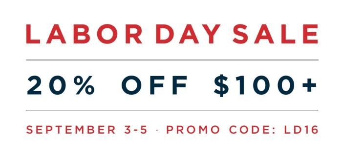 Labor Day Sale 2016 -