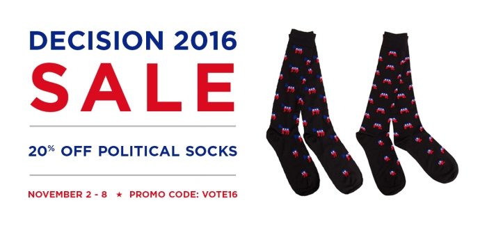 political socks sale