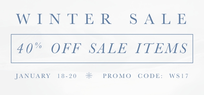 Dapper Classics Winter Sale