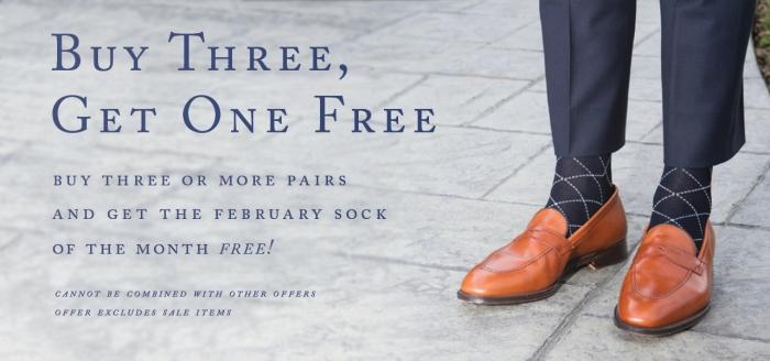 Dapper Classics Sock of the Month