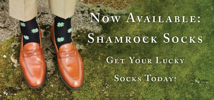 Lucky Shamrock Socks
